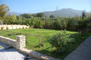 A garden outside Casale Villanova