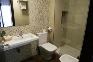 A bathroom at Arcos de Montemar
