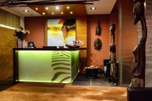 Vstupní hala nebo recepce v ubytování Afrika Hotel Frýdek-Místek