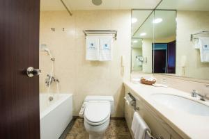 A bathroom at Okura Act City Hamamatsu