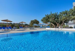 The swimming pool at or near Vasia Ormos Hotel (Adults Only)