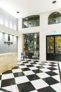 The lobby or reception area at Superior One Boutique Hotel