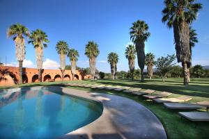 The swimming pool at or close to Mount Etjo Safari Lodge
