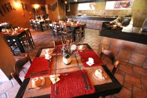 A restaurant or other place to eat at Mount Etjo Safari Lodge