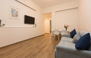 A seating area at Salerno Prestige Apartment