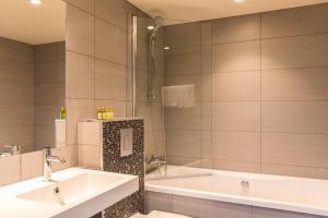 Et bad på Sortland Hotel