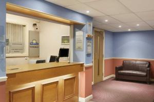 The lobby or reception area at Days Inn Tewkesbury