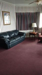 A seating area at The Blue Heron Inn