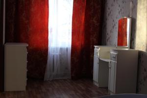 Телевизор и/или развлекательный центр в Апартаменты на Советской 21