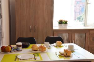 Opcje śniadaniowe w obiekcie Apartament Leliwa - Centrum