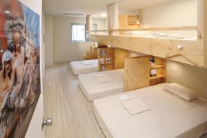 올레 스테이 객실 이층 침대