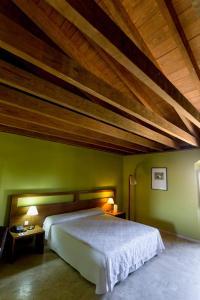 Cama o camas de una habitación en Hospedería Conventual de Alcántara