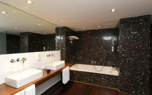 Salle de bains dans l'établissement Hotel Zhero
