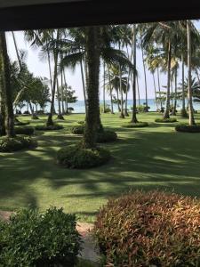 A garden outside Dusita Koh Kood Resort