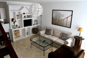 Zona de estar de Duplex Esperanza