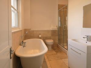 A bathroom at Andover Apartments