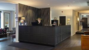Lobbyen eller receptionen på Best Western Plus Hotel Kronjylland