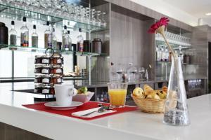 Restaurant ou autre lieu de restauration dans l'établissement Odalys City Lyon Confluence