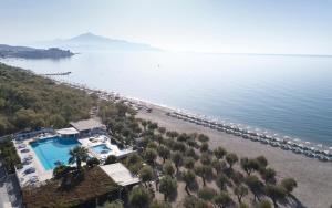 A bird's-eye view of Kouros Seasight Hotel