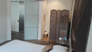 A bathroom at Vieux port T2 chic