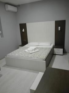 Krevet ili kreveti u jedinici u okviru objekta Hostel Silver House Novi