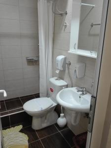 Kupatilo u objektu Hostel Silver House Novi