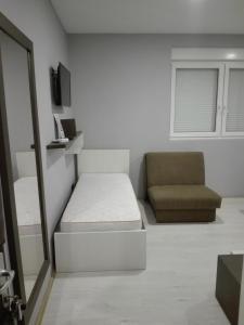 Prostor za sedenje u objektu Hostel Silver House Novi