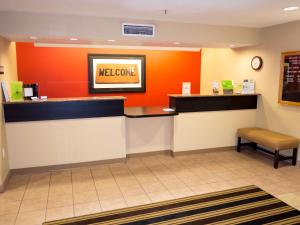 The lobby or reception area at Extended Stay America Suites - Orlando - Convention Center - Universal Blvd