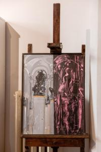 Una cocina o zona de cocina en Appartamento Florence Art
