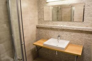 A bathroom at Hotel Bothe