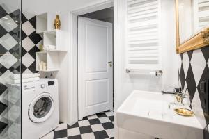 Łazienka w obiekcie Apartament Flat White MTP