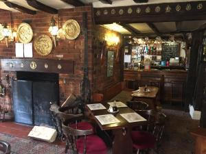 The lounge or bar area at Sorrel Horse Inn