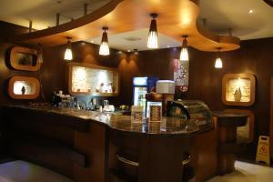 O lounge ou bar de Dorar Darea Hotel Apartments - Al Nafl