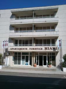 The building where the condo hotel is located