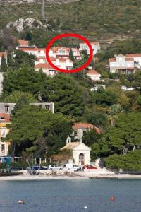 A bird's-eye view of Apartments with a parking space Mlini, Dubrovnik - 4773