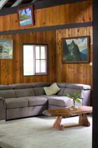 Uma área de estar em Comfortable Maison