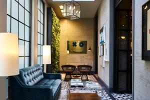 A seating area at SIXTY SoHo