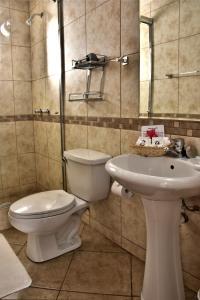 A bathroom at Andenes al Cielo