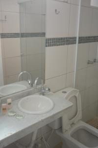Um banheiro em Pousada Praia do Jabaquara