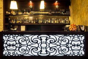 Zona de lounge sau bar la Hotel Aramia
