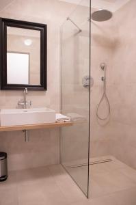 Łazienka w obiekcie Hotel Kocour