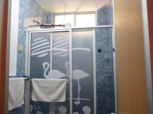 A bathroom at Hostal Terito