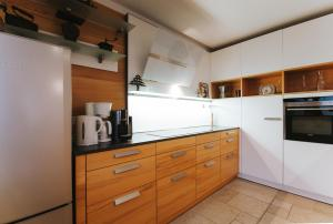 A kitchen or kitchenette at Apartment Vienna Loft
