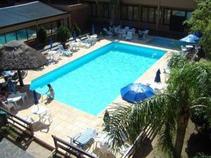 Uma vista da piscina em Hotel Fazenda Figueiras ou nos arredores