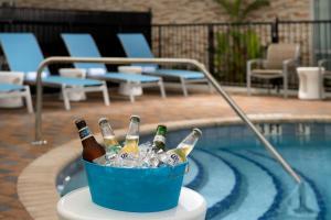 The swimming pool at or close to Hampton Inn Miami Airport East