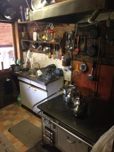 Una cocina o zona de cocina en Lodge Lago Las Torres