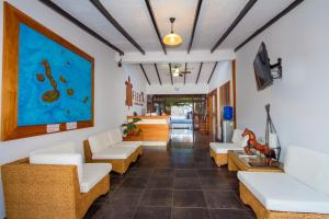 The lobby or reception area at Hotel Fiesta