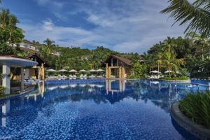 The swimming pool at or near Movenpick Resort & Spa Boracay