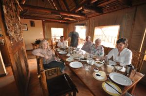A restaurant or other place to eat at Xaus Lodge