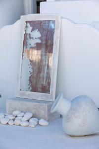 Salle de bains dans l'établissement Mykonos Bay Resort & Villas